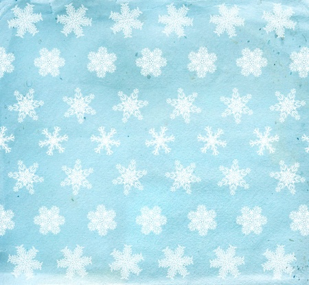 Christmas grunge background with snowflakes Stock Photo - 16550236
