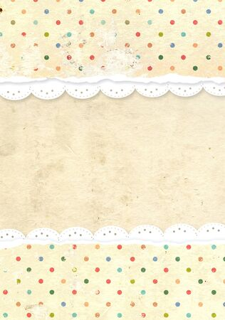 Decorative grunge background for scrapbooking Stock Photo - 16550237
