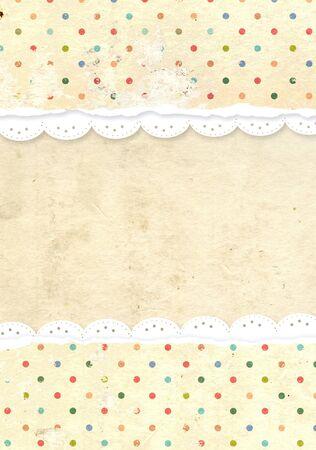 Decorative grunge background for scrapbooking Stock Photo - 16550237