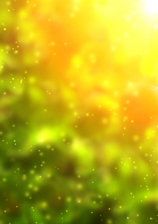 Summer background with bright sun Stock Photo - 16550218
