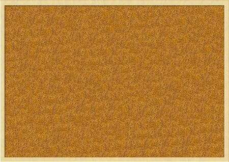 Cork board with wooden frame Stock Photo - 16720428