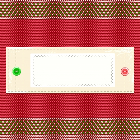 tailored: Christmas background in retro style