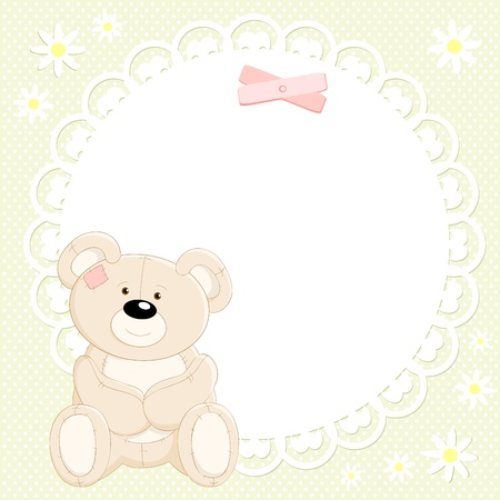 Vector cute Teddy bear  Vector