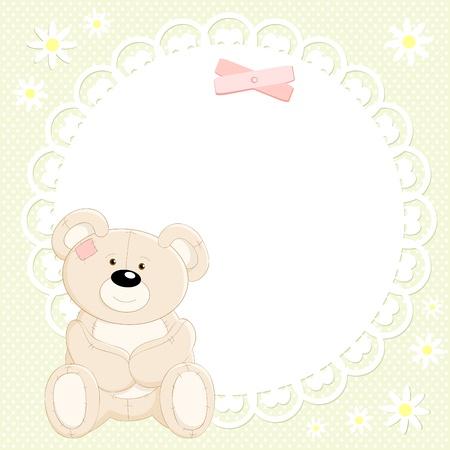 teddybear: Vector cute Teddy bear