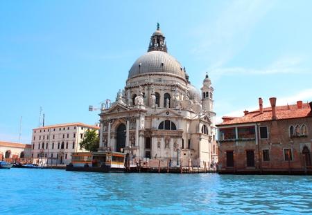 Basilica di Santa Maria della Salute, Venice, Italy photo