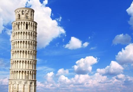 leaning tower of pisa: Leaning Tower of Pisa Stock Photo
