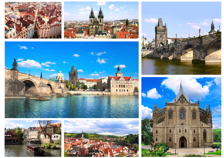 tynsky church: Collection - famous places of Czech Republic
