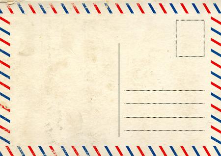 Grunge fond avec rétro carte postale texture Banque d'images