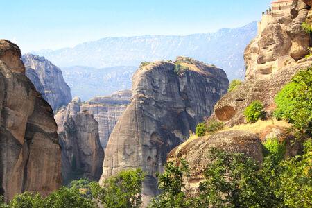 kalampaka: Mountains Meteors in Kalampaka, Greece