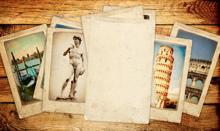 Memories of Italy Collection of vintage cards photo