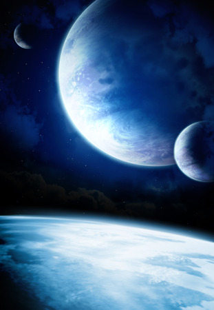 interplanetary: Fantastic beautiful space