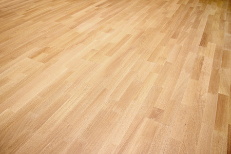 New oak parquet of brown color Stock Photo - 37114580