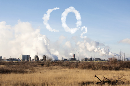 air pollution: Problems of ecology - environmental contamination