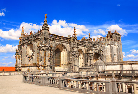 monastery: Templar Convent of Christ in Tomar, Portugal