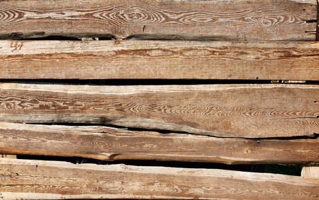 wooden boards: Texture - old wooden boards of brown color Stock Photo