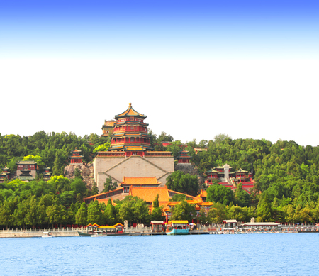 summer palace: Imperial Summer Palace in Beijing, China Stock Photo