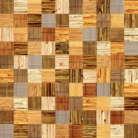 harmless: Seamless background with bamboo patterns of different colors. Endless texture can be used for wallpaper, pattern fills, web page background, surface textures Stock Photo
