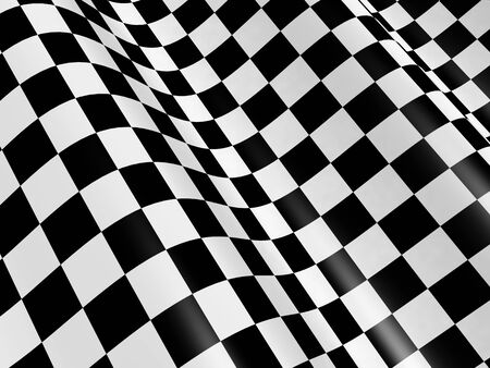 checked flag: Sports background - abstract checkered flag