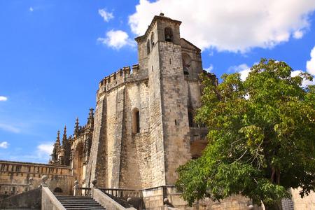 templars: Templar Convent of Christ in Tomar, Portugal