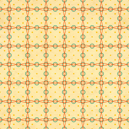 soiled: Seamless texture of the old soiled paper with geometric ornamental pattern