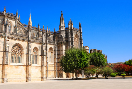 vitoria: Santa Maria da Vitoria monastery, Batalha, Portugal
