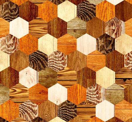 parkett: Background with wooden patterns of different colors Stock Photo