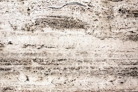 Close-up Textur der alten Travertin