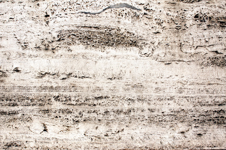 Close-up texture of old travertine