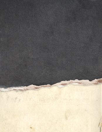 fondo del grunge con textura de papel de color beige y gris