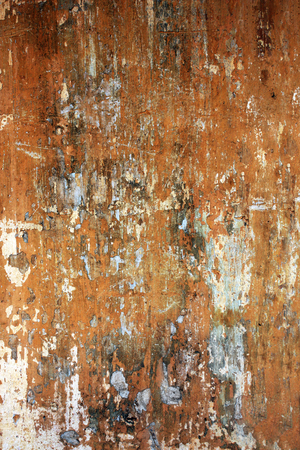 stucco texture: Grunge background with old stucco wall texture of brown color