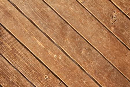 Texture of old wooden boards of brown colors Stock Photo