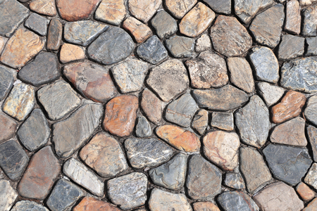 Texture of ancient paving stone Stock Photo