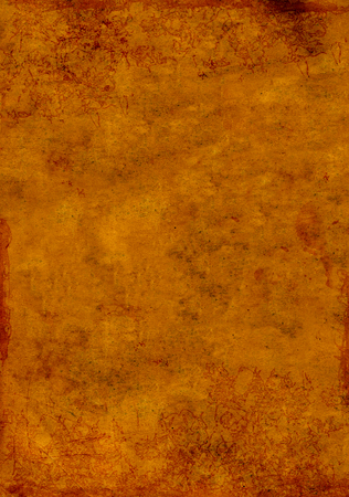 Grunge background with texture of old soiled paper of brown color Stock Photo