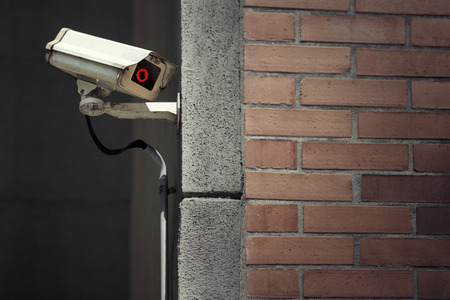 CCTV Surveillance Camera on a building Wall