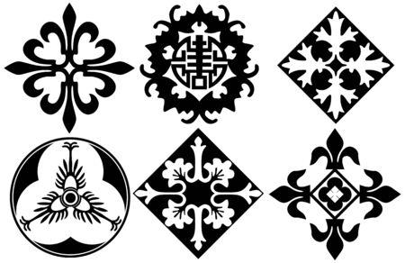 fortune design: decorative pattern Stock Photo