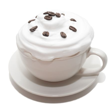 musetti: Ice cream with coffee in cup