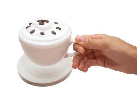 musetti: Ice cream in a female hand