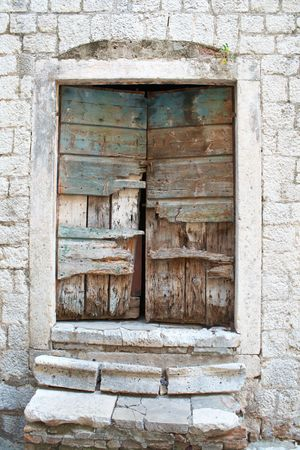 old wooden gate Stock Photo - 6810969