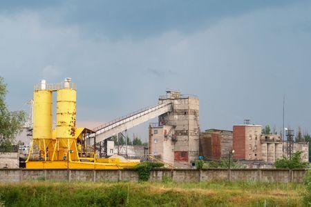 old Soviet factory photo