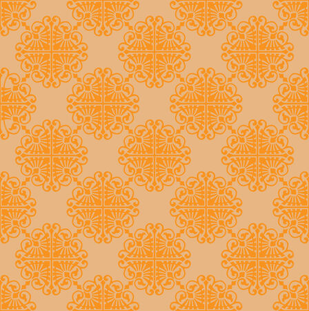 Retro wallpaper Stock Vector - 6839557