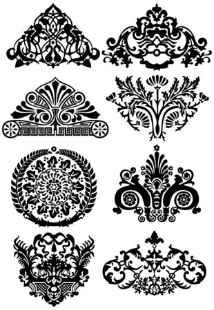 ancient tattoos and ornaments Stock Vector - 6839560