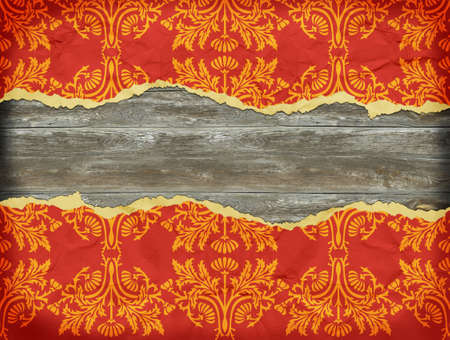 bstract: vintage tattered background