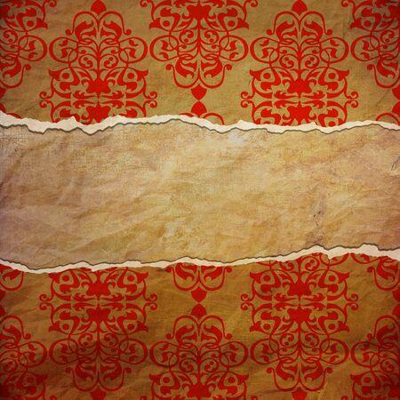 fabrick: vintage tattered background