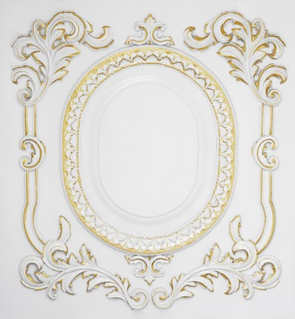 Antique ornament - frame photo