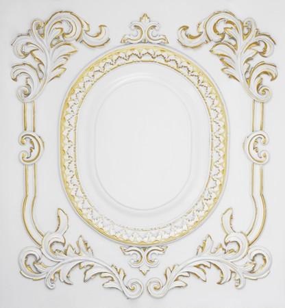 Antique ornament - frame