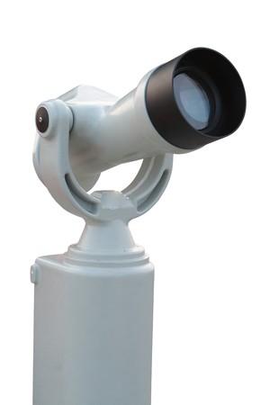 Tourist-type telescope.  photo