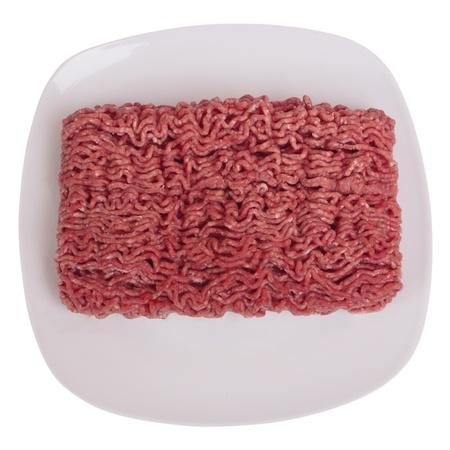 Raw ground beef photo