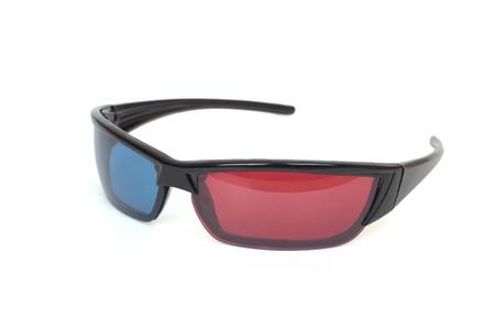 3d cinema glasses. Isolated on white Stock Photo - 11381513