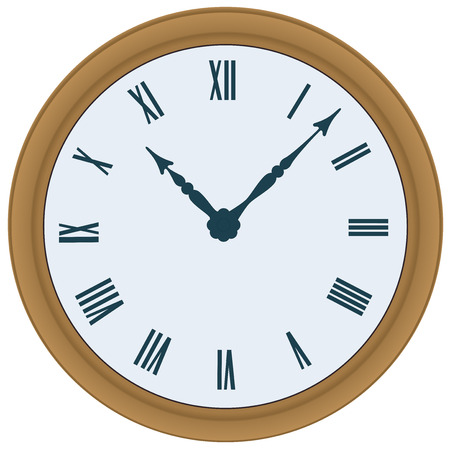 Clock. Vector illustration Vector