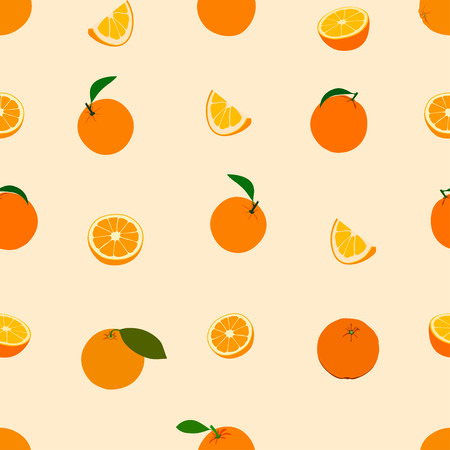 orange cut: Vector Orange pattern. Background
